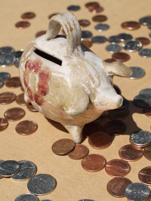 Piggy Bank savings and funds